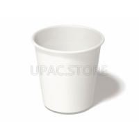 Стакан бумажный белый 180 мл. 1.50 руб/шт, 50 шт в упаковке