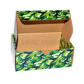 """Подарочная коробка """"камуфляж"""" 12*8*5 см"""